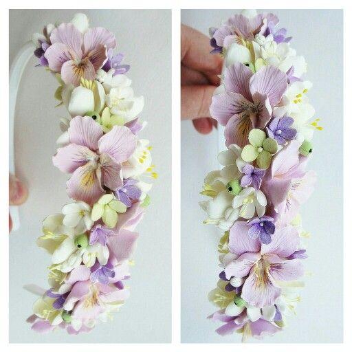 Wedding accessories. Wedding flowers. Wedding. Handmade flowers. Wedding wreath. Flowers. Summer.