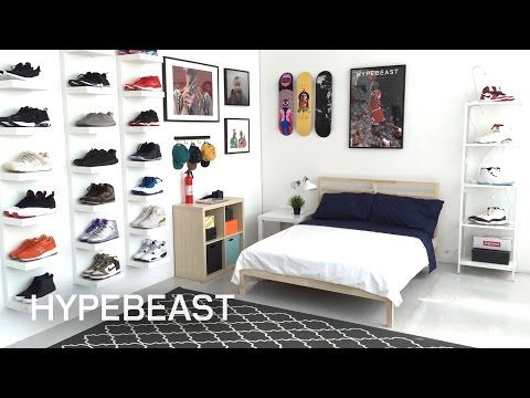 Elegant IKEA® And HYPEBEAST Design The Ideal Sneakerhead Bedroom