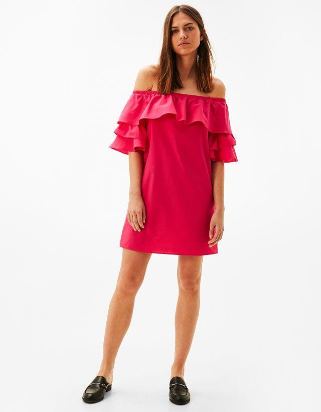Pink Dress #dress #pink #fashion #summer #ruffles