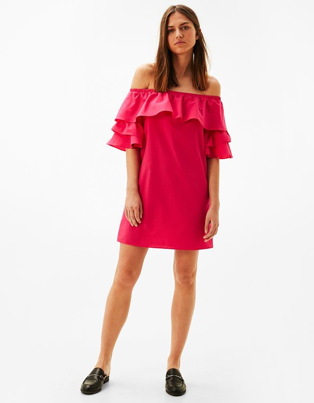 Pink Dress #dress #pink #fashion #summer #ruffles