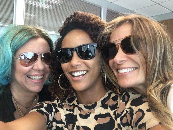 Astrid Fontenelle, Tais Araújo e Monica Martelli (Foto: Reprodução/Instagram)