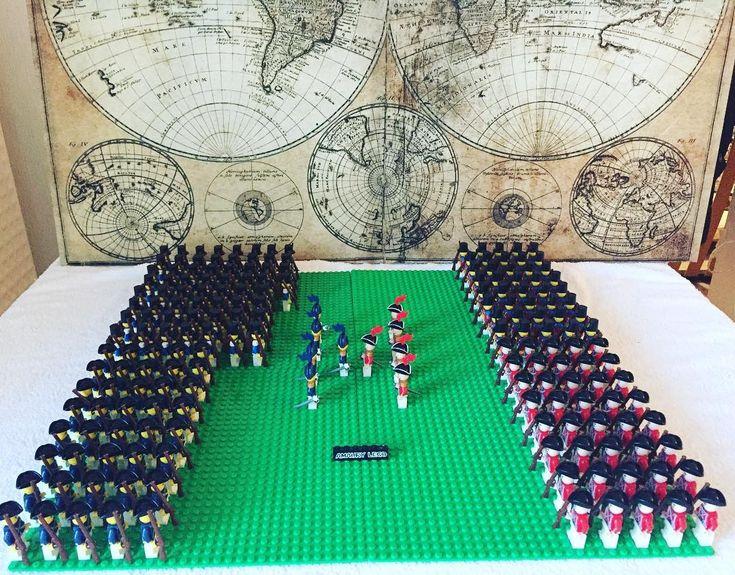 #lego #gardeimperiale #legopics #lego #legoland #legostagram #legophotography #legominifigures #napoleon #waterloo #diorama