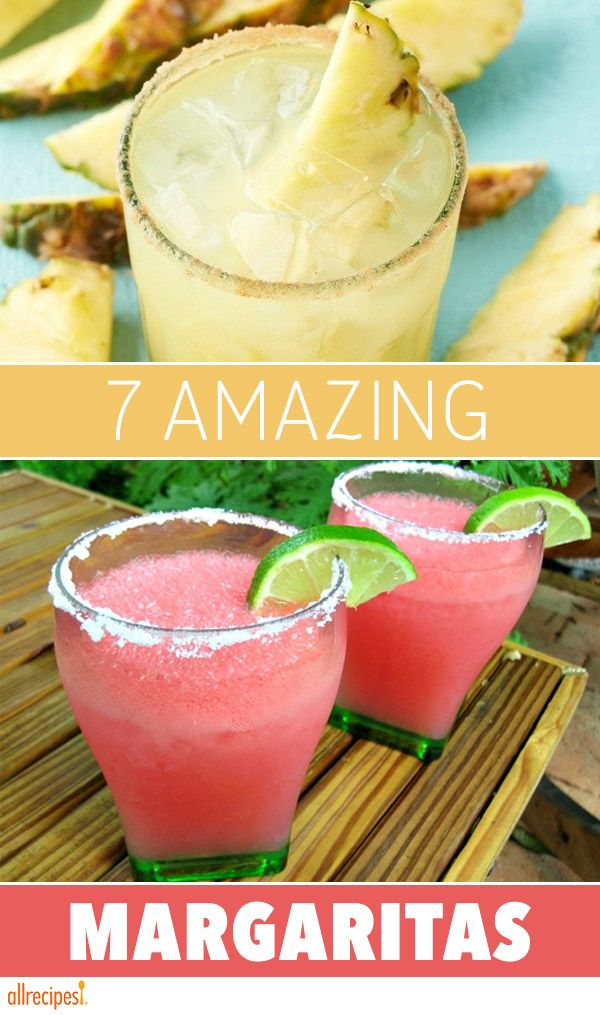 In each of these margarita recipes, a secret ingredient steps up to add extra yum to this summer's favorite cocktail.
