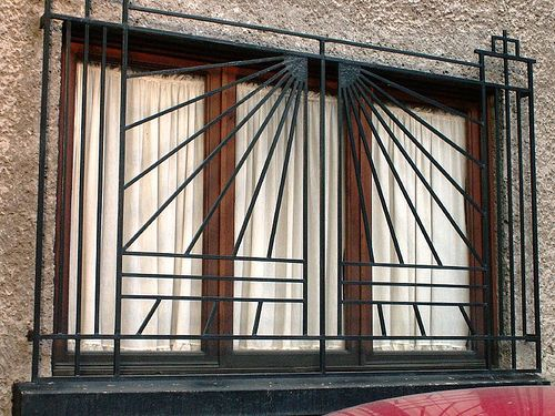 Great Art Deco Window Bars By Thom228, Via Flickr Awesome Ideas