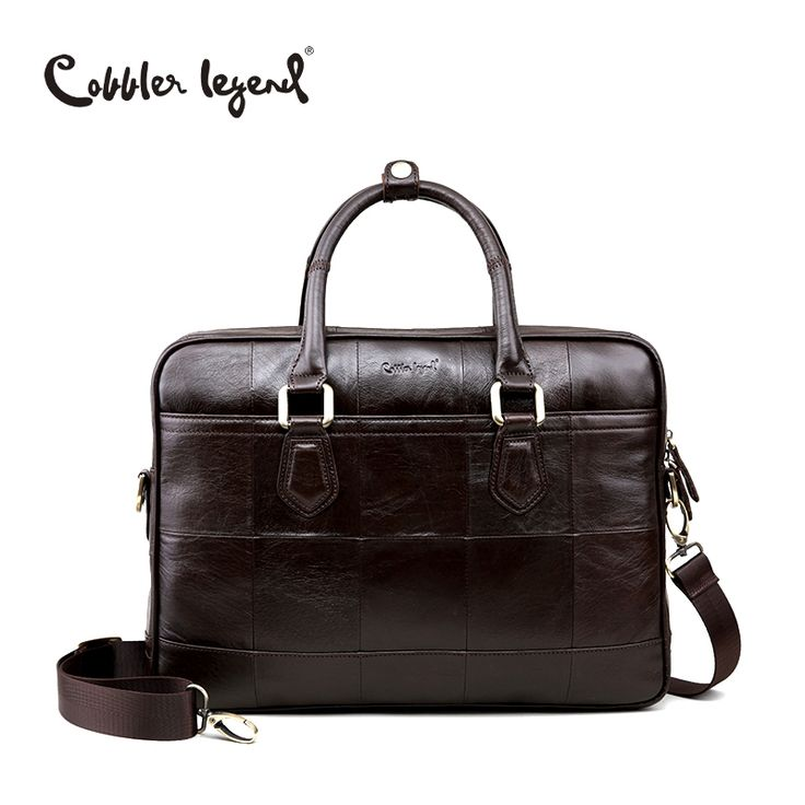 64.26$  Buy now - http://aliuun.worldwells.pw/go.php?t=32771008156 - Cobbler Legend Brand Designer Men's Real Leather Briefcase Bag For Male Crossbody Bags  For 15'' Laptop Business Bag 0907159-A-1