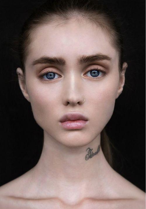 Aliya Galyautdinova / Алия Галяутдинова - the marked girl.