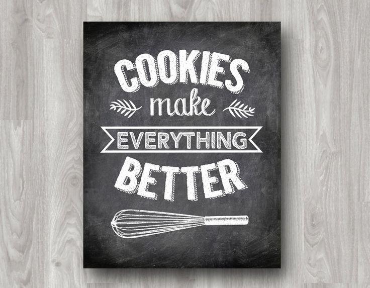 Best 25+ Kitchen Chalkboard Quotes Ideas On Pinterest
