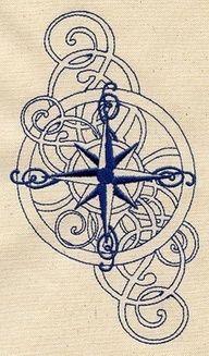 love compass tattoo - Google Search