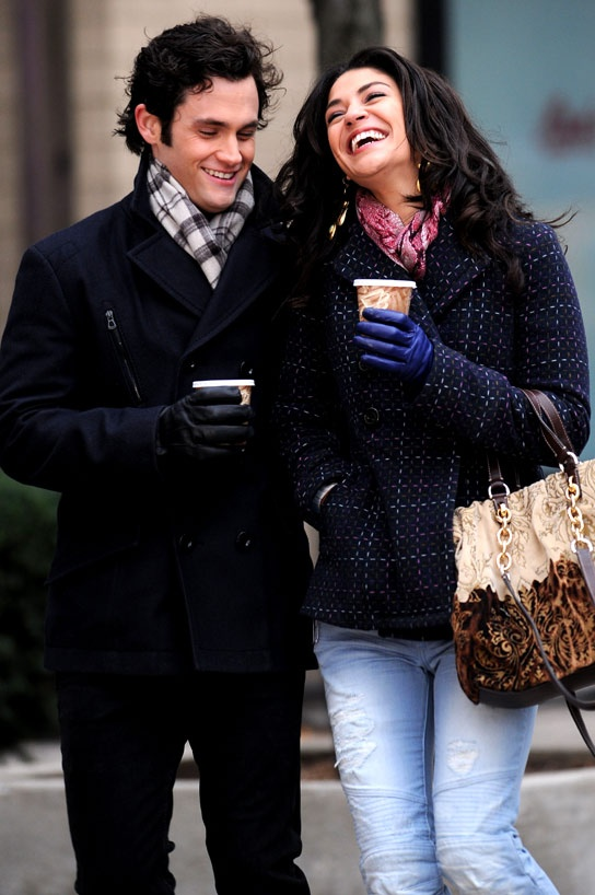 Dan and Vanessa // Gossip Girl. The books did their relationship far more justice than the show. Best friends make the best couples.
