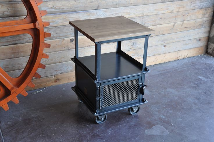Ellis side table by vintage industrial furniture in for Furniture 85050