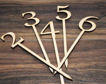 Número de la tabla números de mesa números de mesa de por BRAWOX