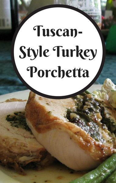 Mario Batali showed 'Chew' viewers the turkey he planned on making for his own family Thanksgiving. This Tuscan-Style Turkey Porchetta may replace your go-to holiday recipe!