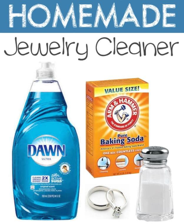 25 Best Ideas About Homemade Jewelry Cleaner On Pinterest