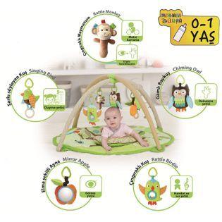 Sozzy Toys Mutlu Bebek Oyun Halısı
