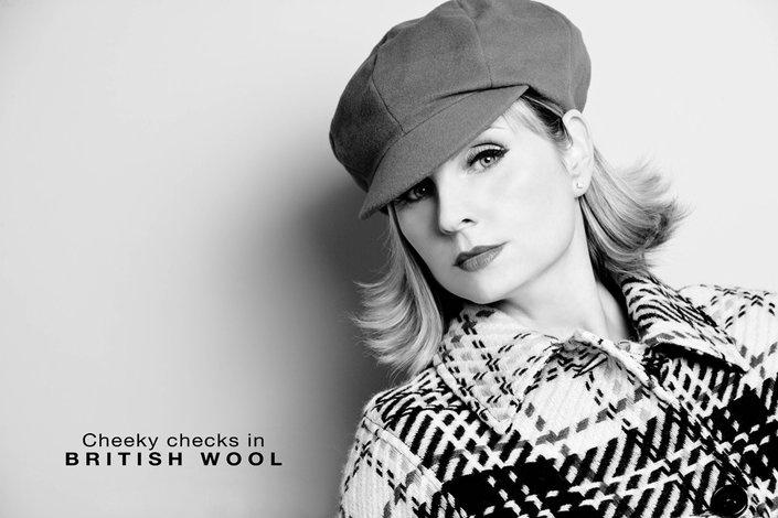 Christy Ladies Cape in British Wool - £150.00
