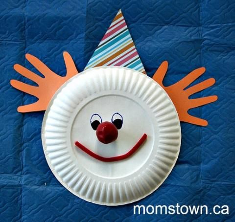 Circus Themed Party for Kids & Clown craft