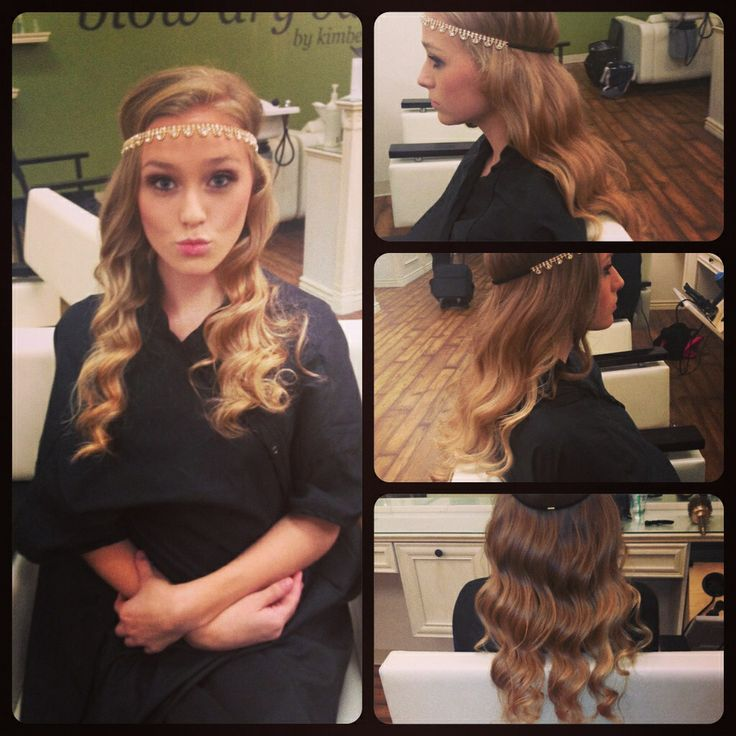 Great Gatsby Dance #hair #curls #greatgatsby