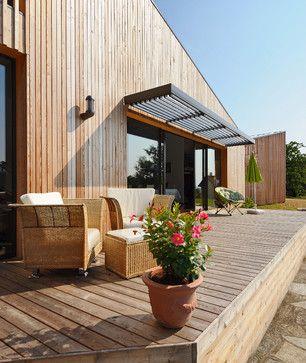 photos de maisons et id es d co bardage bois noir. Black Bedroom Furniture Sets. Home Design Ideas