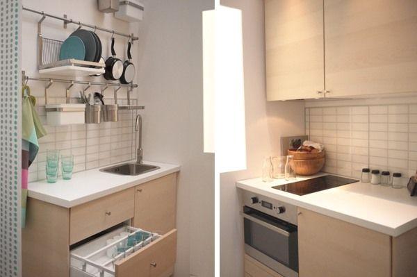 cuisines ikea la nouvelle metod maison pinterest amenagement petit espace espaces. Black Bedroom Furniture Sets. Home Design Ideas