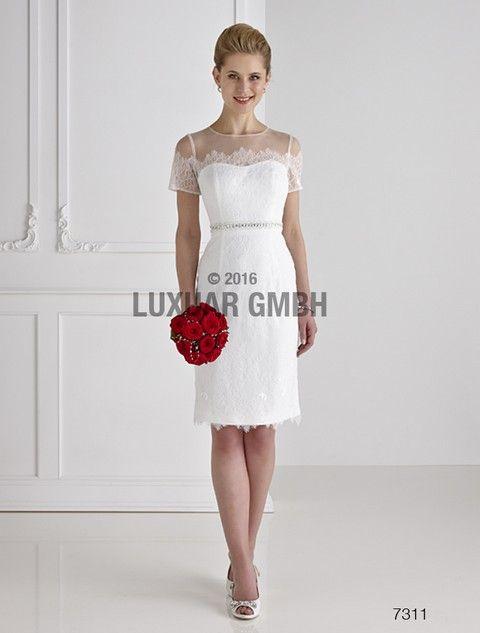 Krátke svadobné šaty svadobny salon valery