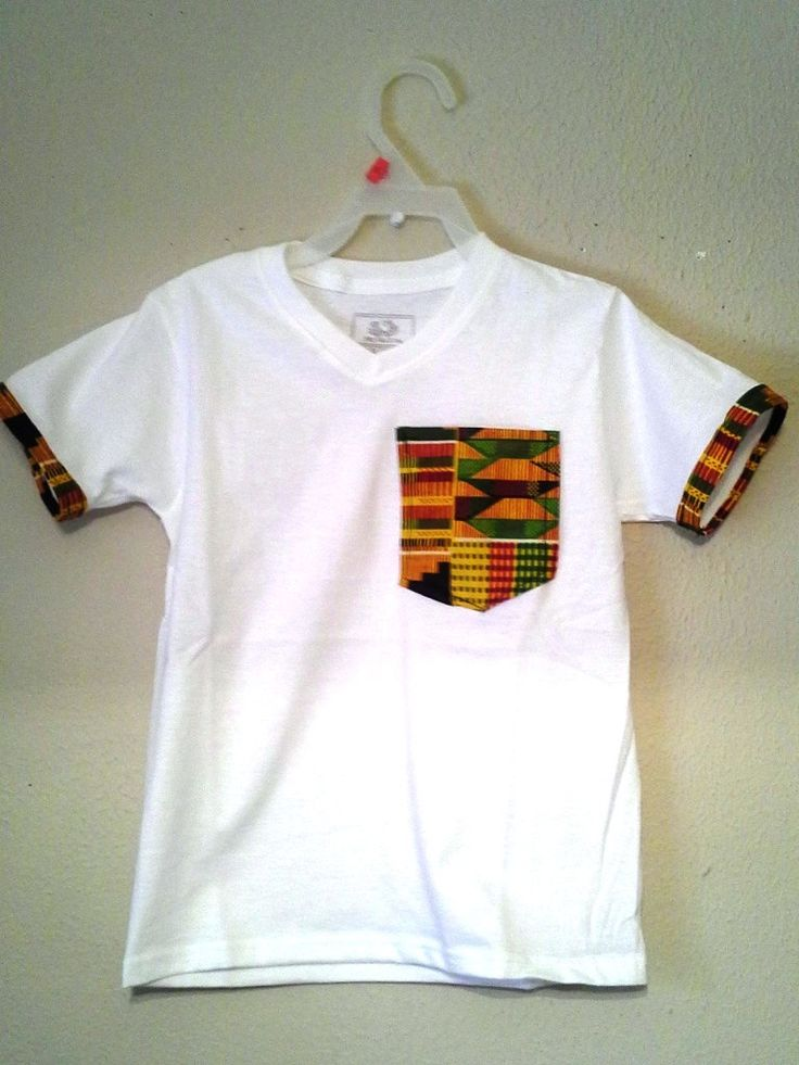 Africa kente  t shirt design with kente by MyBigLilGirlDresses, $15.00