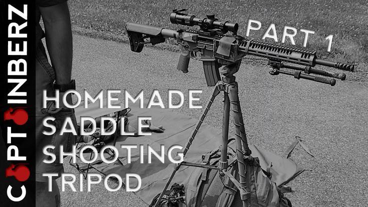 Homemade Saddle Shooting Tripod Part 1 of 3 Guns