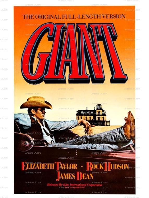 rock hudson movie posters | ... Rock Hudson 1956 Movie Poster Set Download Restored Classic Movie