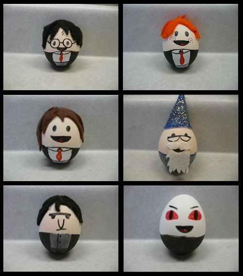 harry potter Easter eggs!!Holiday, Nerd, Harry Potter Easter Eggs, Potter Eggs, Harrypotter, Things, Crafts, Geeky Stuff, Geeky Easter