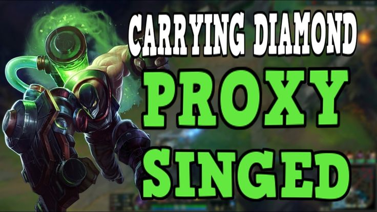 Carrying Diamond ELO as Proxy Singed (LAN Server) https://www.youtube.com/watch?v=a7V1WJETNgg #games #LeagueOfLegends #esports #lol #riot #Worlds #gaming