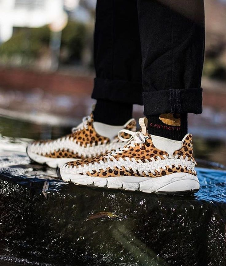 Unleash the leopard! Nike Footscape by @snkrfrk10 //  >> Tag #sneakersmag for a shoutout! <<  #nike #footscape #leopard #sadp #kotd #walklikeus #igsneakercommunity #nikefootscape #womft #sneaker #sneakers