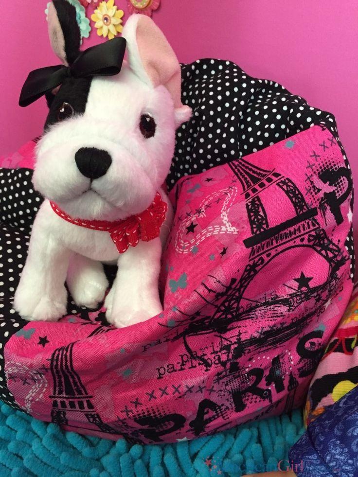 DIY American Girl Doll Bean Bag Chair
