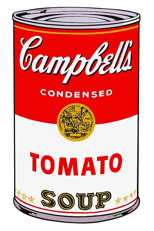 Campbell's Tomato Soup Can - Andy Warhol