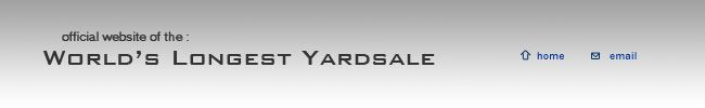 Welcome to the World's Longest Yardsale, also known as the 127 Corridor Sale. The headquarters are located at the Fentress County Chamber of Commerce in Jamestown, TN on the beautiful Cumberland Plateau.   1-800-327-3945