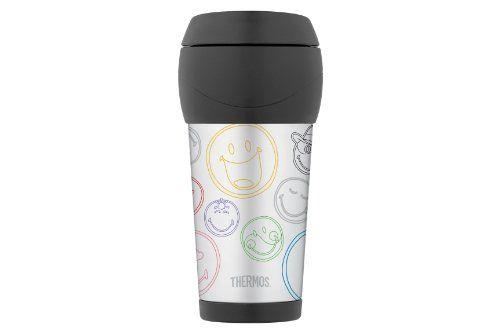 Thermos Smiley – Taza térmica de acero inoxidable - http://tienda.casuarios.com/thermos-smiley-taza-termica-de-acero-inoxidable-05-l-2/