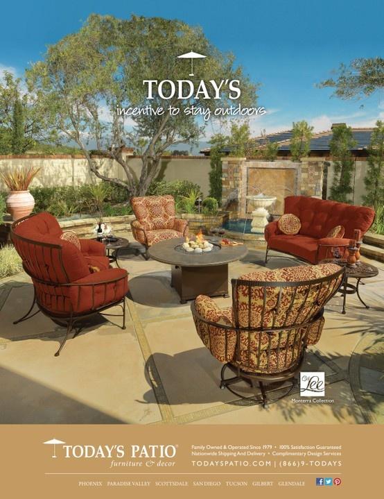 OW Lee Monterra Collection   Todayu0027s Patio Magazine Ad