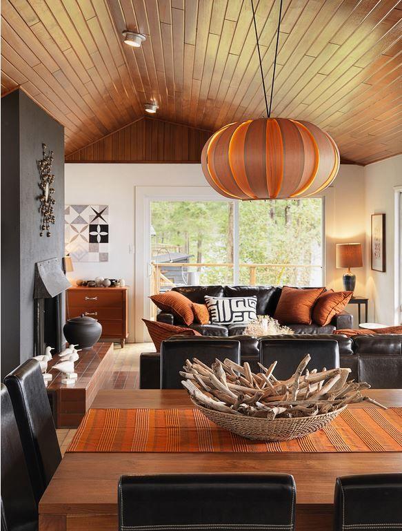 25 besten Interiors Bilder auf Pinterest - Wohnzimmer Grau Orange