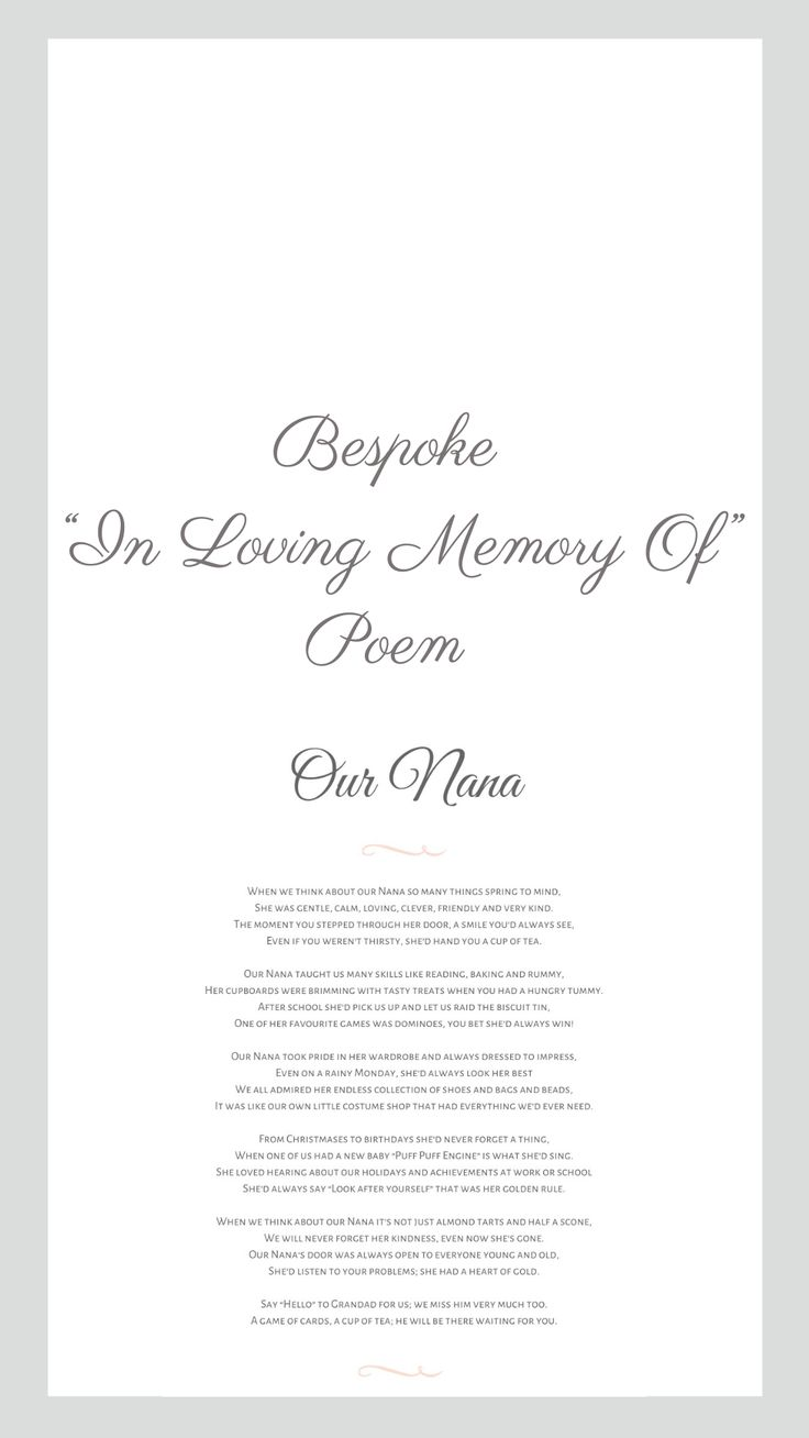 Pin on Bespoke Memorial and Funeral Poems