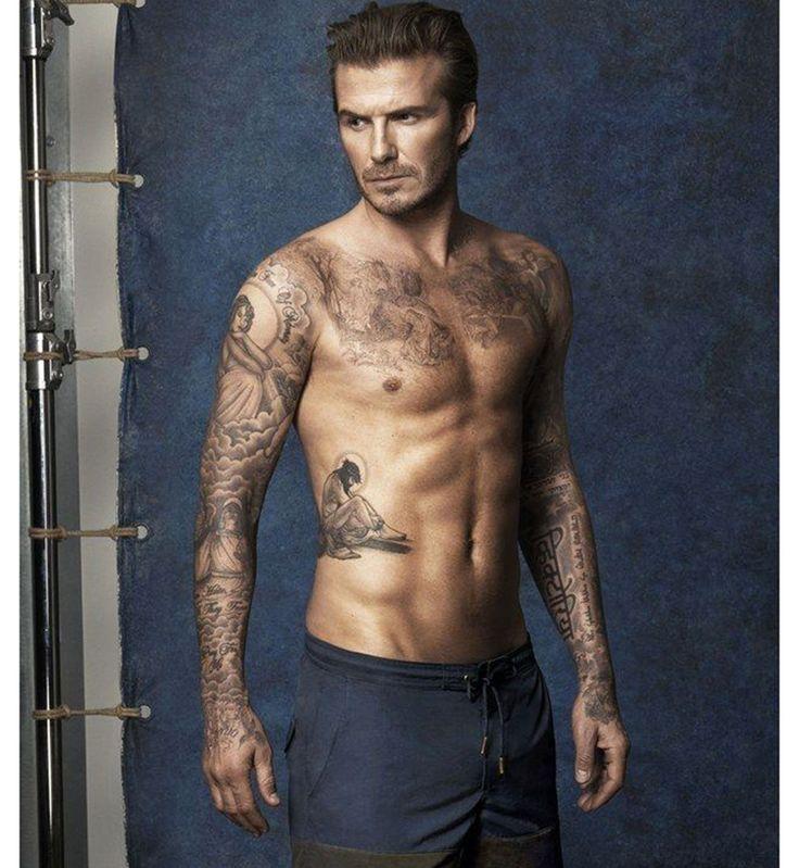 Tatouage sexy pour homme : les tatouages sentimentaux de David Beckham