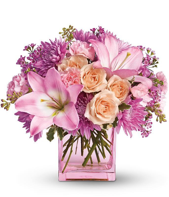 Днем рождения, красивая открытка с днем рождения дочери с цветами