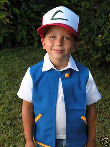 pokemon trainer ash ketchum costume - Google Search
