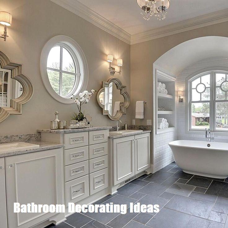 Make Your Bathroom Look Bigger With These Bathroom Decorating Ideas Bathroom Remodel Master Diy Bathroom Decor Bathrooms Remodel