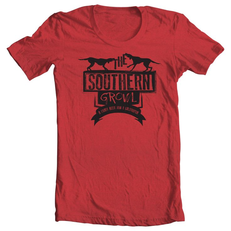 I created this shirt for The Southern Growl in South Carolina.