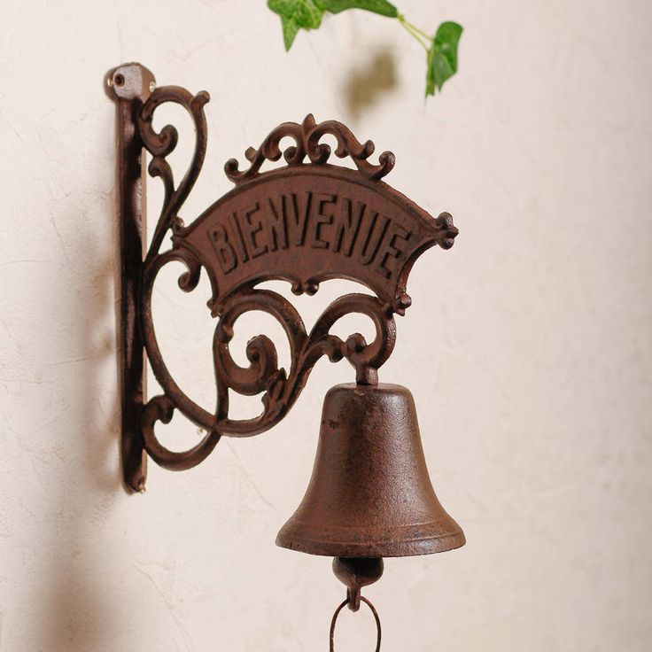 Bienvenue Antique Door Bell