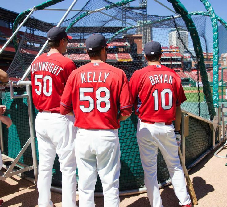 e3d1323dbca ... freese shirt  david freese of the st. louis cardinals throws on the  adam wainwright joe kelly and