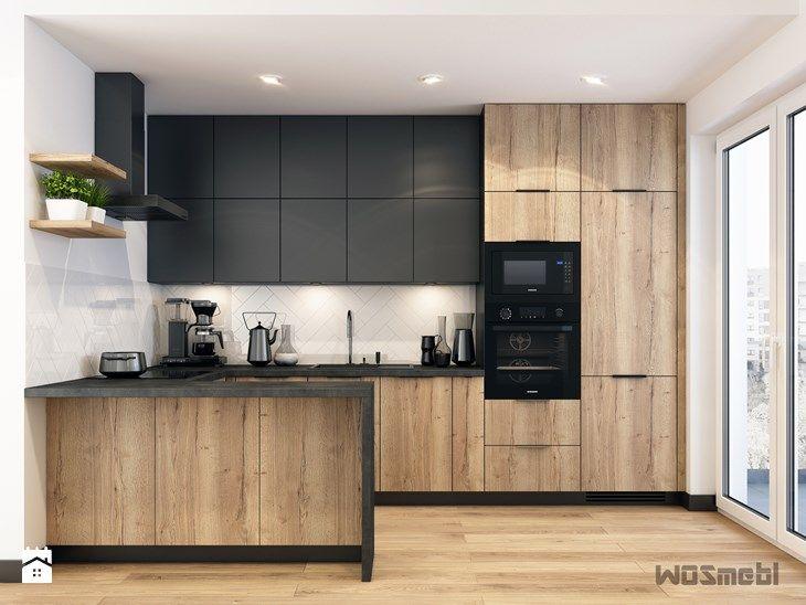 Kuchnia w Industrialnym Stylu - zdjęcie od WOSMEBL Rzeszów Meble na wymiar