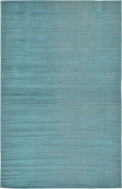 Bayswater Teal Area Rug 4x6 $67.99