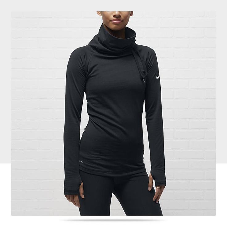 nike pro hyperwarm hybrid women 39 s training shirt my. Black Bedroom Furniture Sets. Home Design Ideas