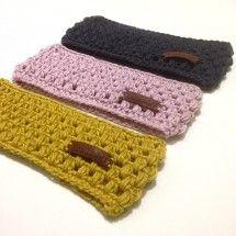 GRATIS HAAKPATROON HOOFDBAND - free crochet pattern earwarmer