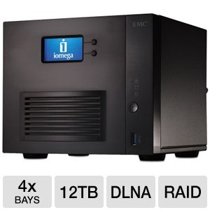 Iomega StorCenter 12TB Network Storage