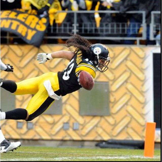 Troy Polamalu - Pittsburgh Steelers <3 him